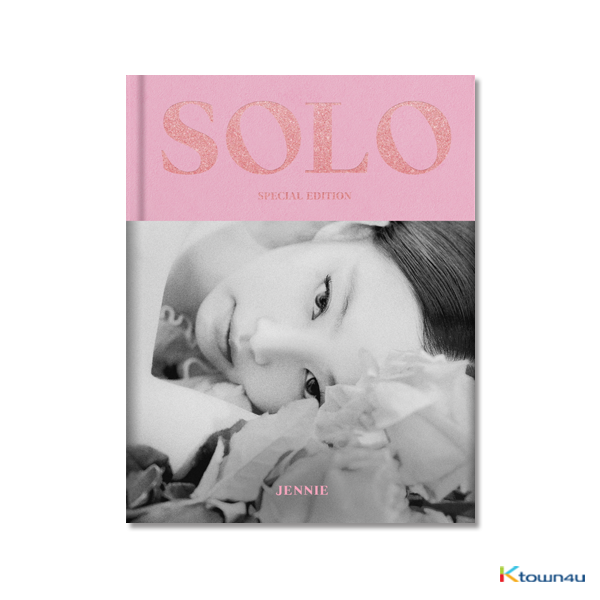[Photobook] BLACKPINK : JENNIE - JENNIE [SOLO] PHOTOBOOK (SPECIAL EDITION) 特别版  **官方生产制作中 预计入库11月底
