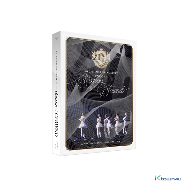 [蓝光] GFRIEND - 2018 GFRIEND FIRST CONCERT [Season of GFRIEND] ENCORE Blu-ray