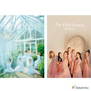 [2版本套装] OH MY GIRL - 正规1辑 [THE FIFTH SEASON] (DRAWING Ver. + PHOTOGRAPHY COVER Ver.)