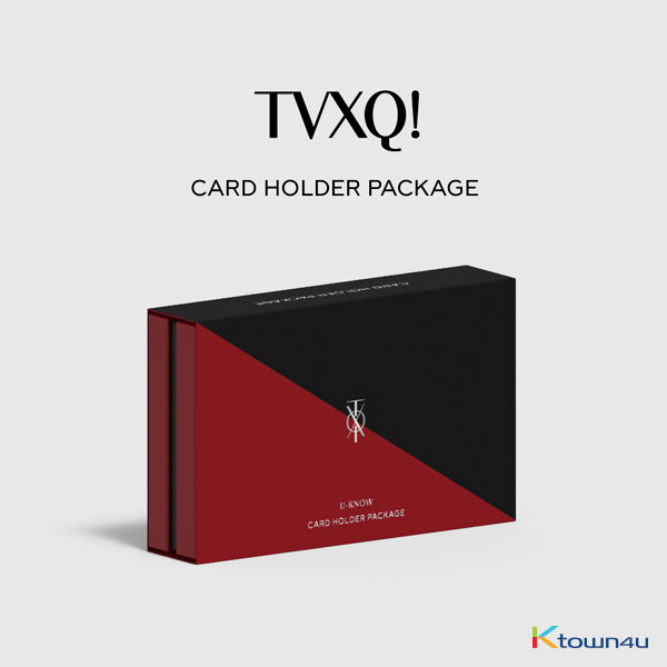TVXQ! - Card Wallet Pakcage Limtted Edition (U-Know Ver.)