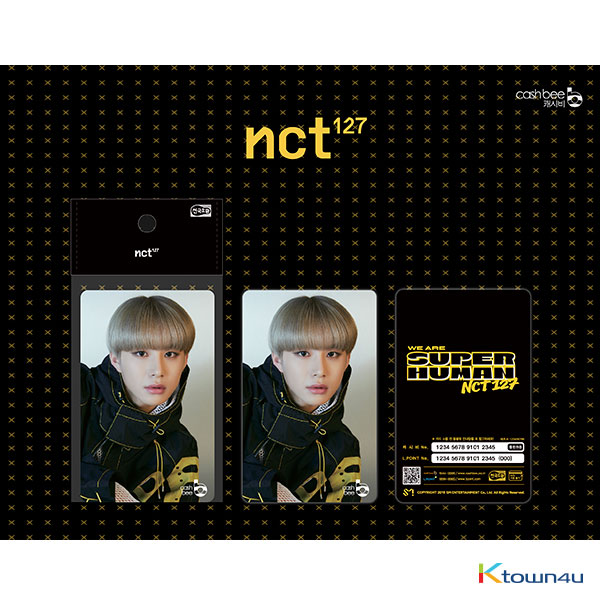 NCT 127 - Traffic Card (JungWoo) *There may be primary and secondary shipments for this item according to the order of payment.