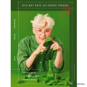 [DVD] XIA - 2019 WAY BACK XIA ENCORE CONCERT DVD