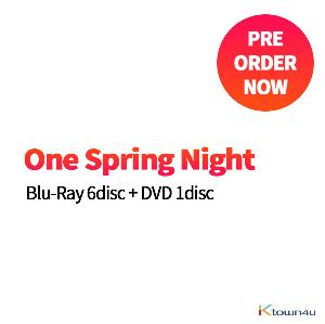 [DVD + 蓝光] 春夜 Blu-Ray 6disc + DVD 1disc (released in March and fixed date will be updated later.)