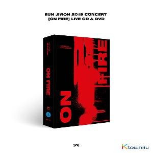 [DVD] 殷志源 - EUN JIWON 2019 CONCERT [ON FIRE] LIVE CD&DVD