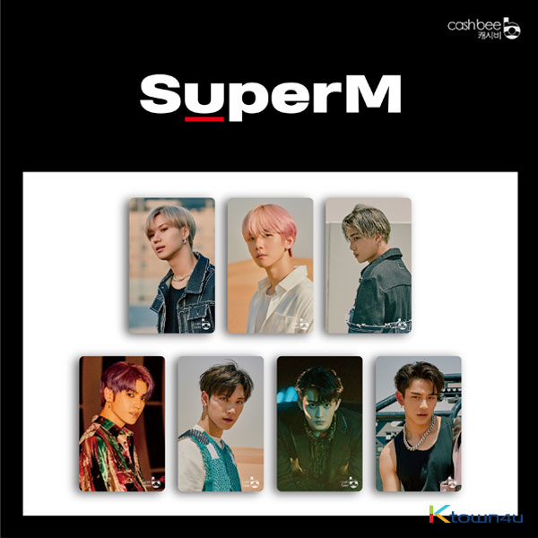SuperM - Traffic Card (B Ver.)