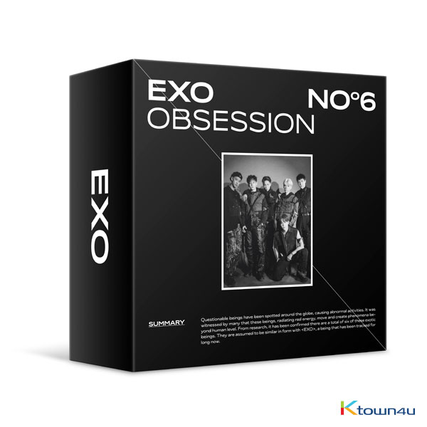 EXO - Album Vol.6 [OBSESSION (OBSESSION Ver.)] (Kit Ver)