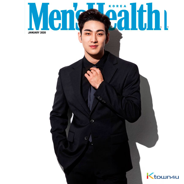 [Magazine] Men`s Health 2020.01 A Type (NU`EST : BAEK HO)