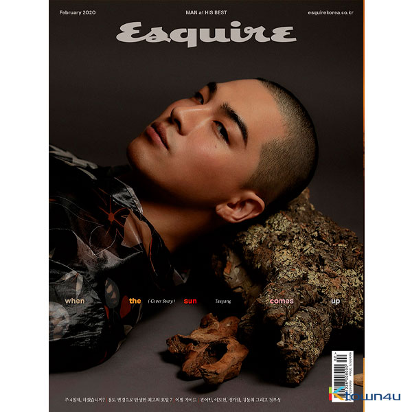 ESQUIRE 2020.02 A Type (Taeyang)