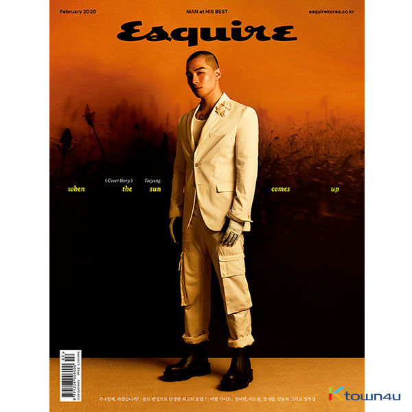 ESQUIRE 2019.02 B Type (Taeyang)