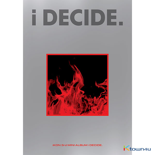 iKON - Mini Album Vol.3 [i DECIDE] (RED Ver.)