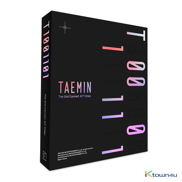 李泰民 TAEMIN - 2nd CONCERT [T1001101] KiT Video