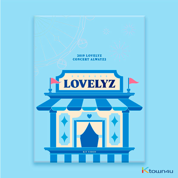 Lovelyz - 2019 LOVELYZ CONCERT ALWAYZ 2 KIT VIDEO *Due to the built-in battery of the Khino album, only 1 item could be ordered and shipped to abroa