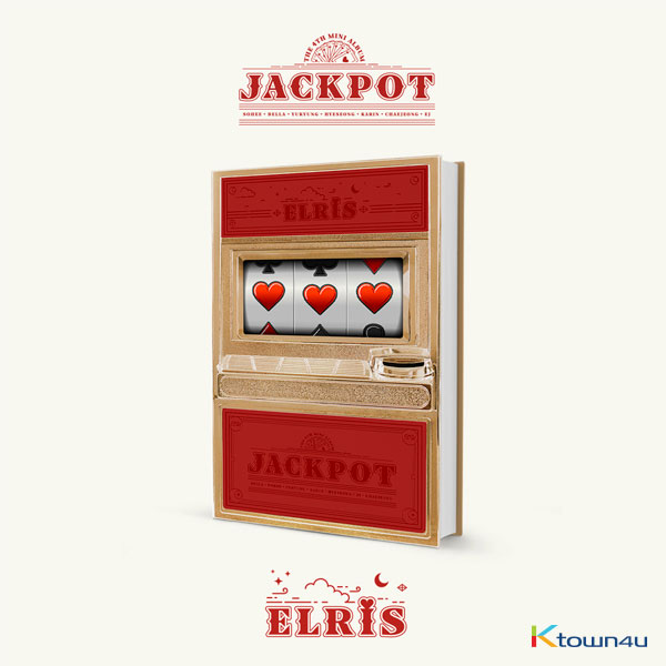ELRIS - Mini Album Vol.4 [JACKPOT] (Red Ver.)