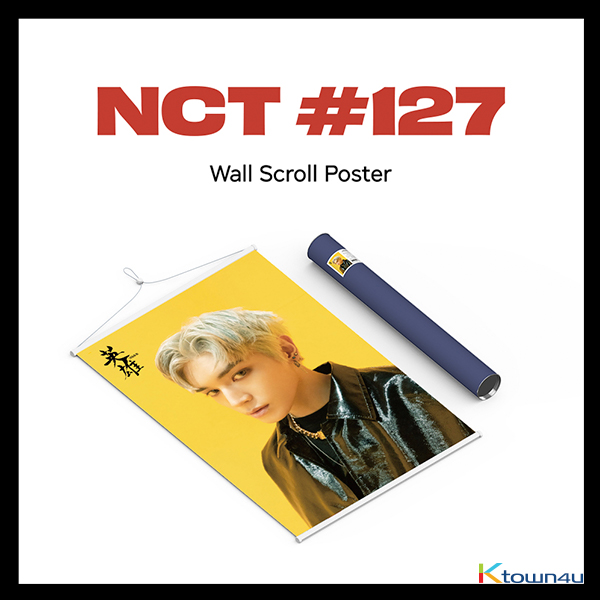 NCT 127 - Wall Scroll Poster (TaeYong ver)