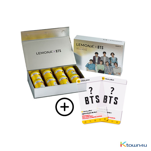 [Lemona ] BTS : Lemona 2g*30ea*8set (BTS Photocard Random 2p) (*Order can be canceled cause of early out of stock)