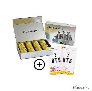 [kyungnampharm] BTS : Lemona 2g*30ea*8set (BTS Photocard Random 2p) (*Order can be canceled cause of early out of stock)