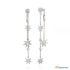 [RITA MONICA] Fairy Star Double Drop Earrings