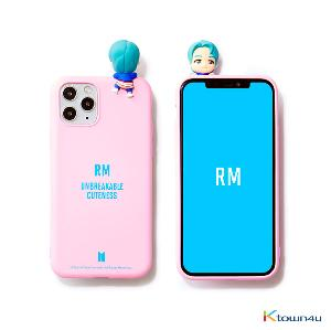 BTS- BTS Character Figure Color Jelly Case_Nickname (RM)