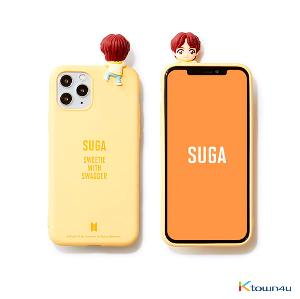 BTS- BTS Character Figure Color Jelly Case_Nickname (SUGA)