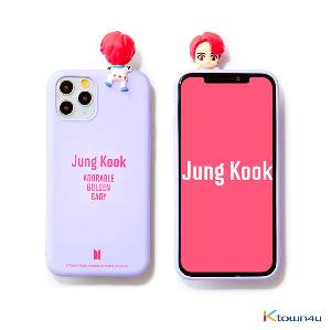 BTS- BTS Character Figure Color Jelly Case_Nickname (JUNG KOOK)