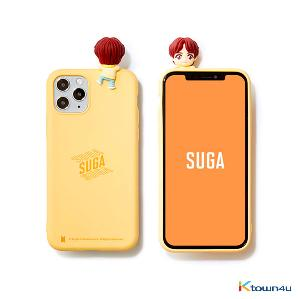 BTS- BTS Character Figure Color Jelly Case_Stairs (SUGA)