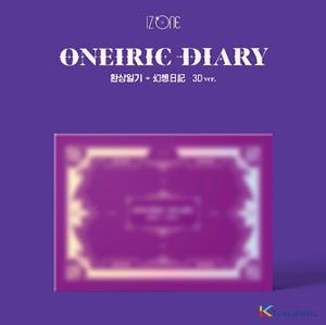 IZ*ONE - Mini Album Vol.3 [Oneiric Diary] (3D Ver.) *Unable to apply for a signing event