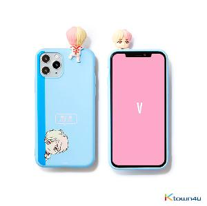 BTS- BTS Character Figure Color Jelly Case_Peek-a-boo (V)
