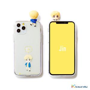 BTS- BTS Character Figure Jelly Case_Ballon (JIN)