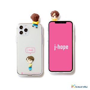 BTS- BTS Character Figure Jelly Case_Ballon (J-HOPE)