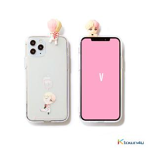 BTS- BTS Character Figure Jelly Case_Ballon (V)