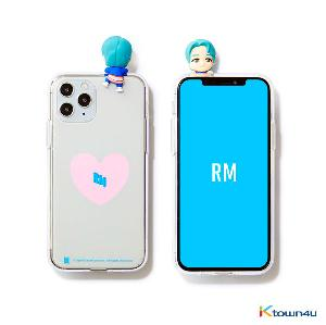 BTS- BTS Character Figure Jelly Case_Heart (RM)