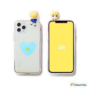 BTS- BTS Character Figure Jelly Case_Heart (JIN)