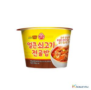 Ottogi Cup Rice Spicy Beef Hot pot 290g*1EA