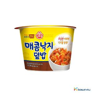 Ottogi Cup Rice Spicy Octopus 250g*1EA