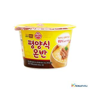 Ottogi Cup Rice Pyongyang Style Soup with shreooed beef 281.5g*1EA