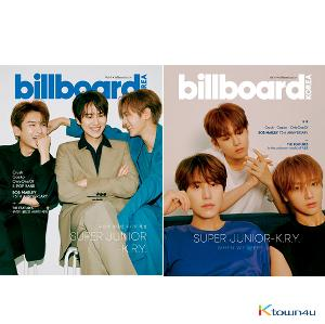 billboard KOREA [2020] No.4 (Super Junior K.R.Y.) *Korean Edition + English Edition + Small Poster (Folded)