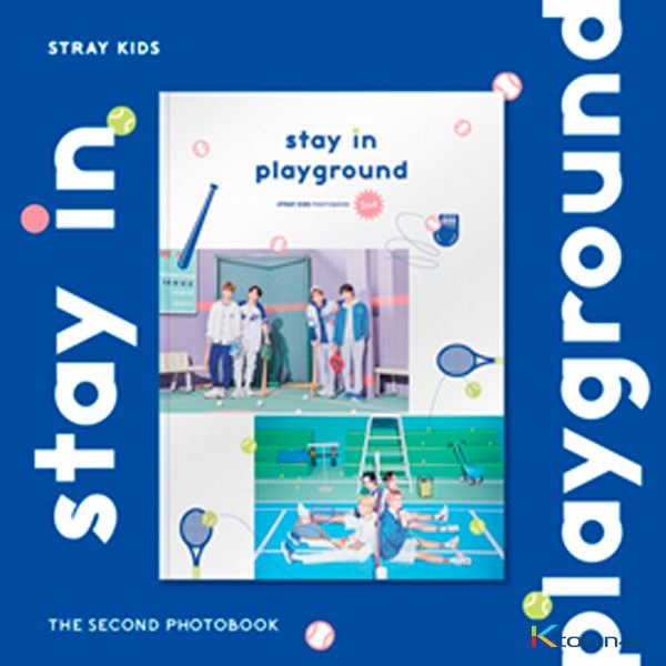 [Photobook] Stray Kids - STRAY KIDS 2nd PHOTOBOOK [stay in playground]