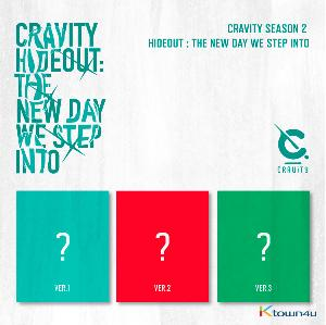 [Ktown4u Event] [SET][3CD SET] CRAVITY - Album SEASON2. [HIDEOUT: THE NEW DAY WE STEP INTO] (Ver.1 + Ver.2 + Ver.3)