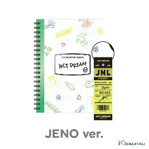 NCT DREAM - [JENO] NCT LIFE : DREAM in Wonderland Commentary Book + Luggage Tag SET