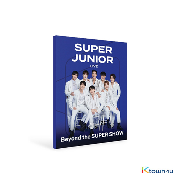 [全款] SUPER JUNIOR - Beyond LIVE BROCHURE SUPER JUNIOR [Beyond the SUPER SHOW]_CenturyBlue百年唯蓝