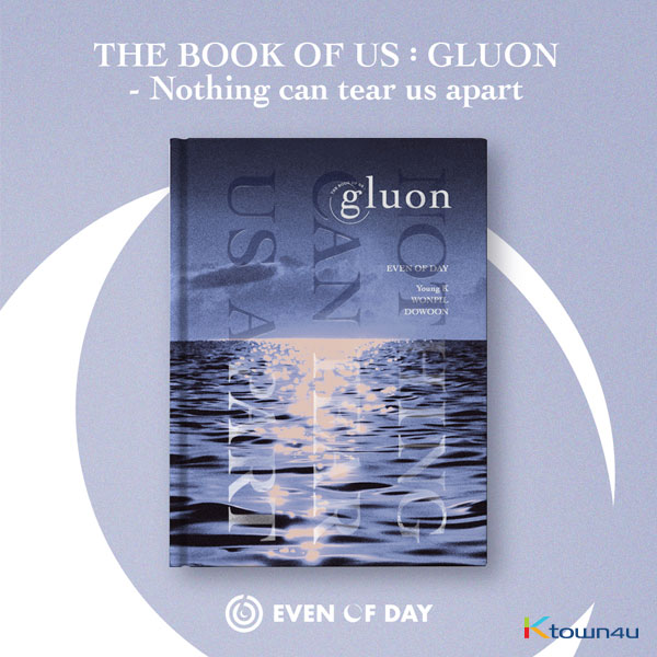 [全款 限量200份最后一批补贴专] DAY6 - Mini Album Vol.1 [The Book of Us : Gluon – Nothing can tear us apart]_DAY6_中文首站