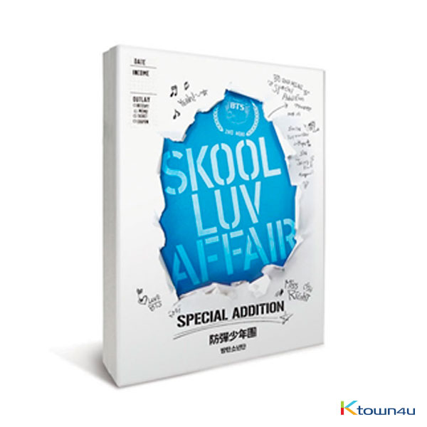 [全款] 防弹少年团 BTS - Mini Album Vol. 2 [Skool Luv Affair] (Special Addition) (再版)_WNS_WeNeedBTS