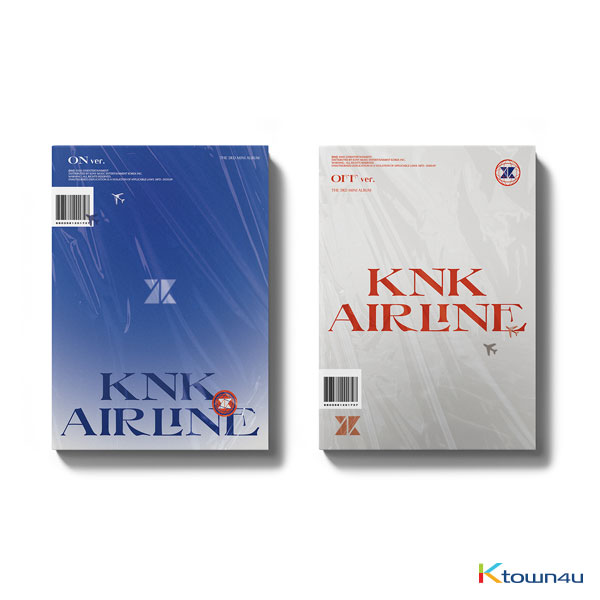 [SET][2CD SET] KNK  - Mini Album [KNK AIRLINE] (ON Ver + OFF Ver.)