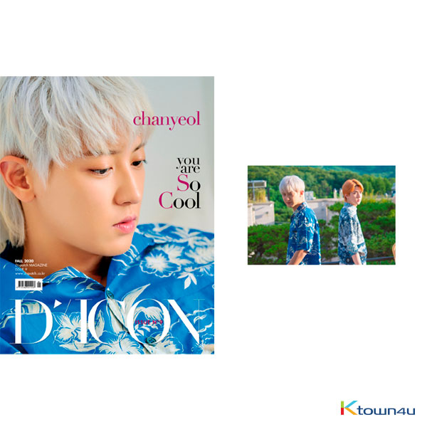 [Magazine] D-icon : Vol.9 EXO-SC - EXO-SC you are So Cool : A Type. chanyeol