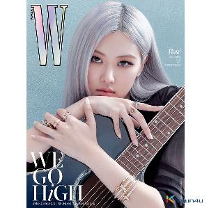 W KOREA 2020.10 C Type (Cover : BLACKPINK ROSE / Content : TAEYEON 10p)