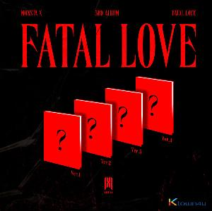 [Ktown4u Event 应募签名会活动] MONSTA X - Album Vol.3 [FATAL LOVE] (版本随机)