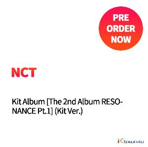 NCT - Kit Album [The 2nd Album RESONANCE Pt.1] (Random Ver.) *Due to the built-in battery of the Khino album, only 1 item could be ordered and shipped at a time. *Different versions will be sent in ca