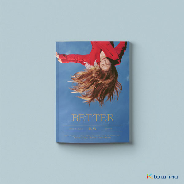 BoA - Album Vol.10 [BETTER] (Standard Edition) (Not included poster)