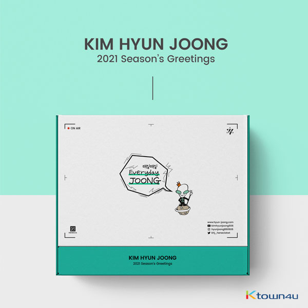 KIM HYUN JOONG - 2021 SEASONS GREETINGS [Everyday Joong]
