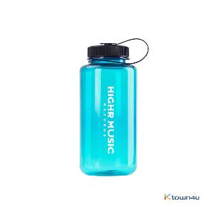 H1GHR MUSIC - H1GHR 1ST COMPILATION Sport Bottle - Aqua Blue